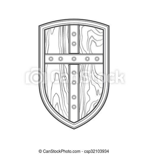 Link's Shield by IghBonk on DeviantArt