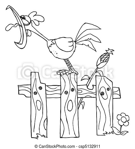 Viewing Gallery For Corn Stalk Coloring Pages 127743 - Corn Field ... | 470x424
