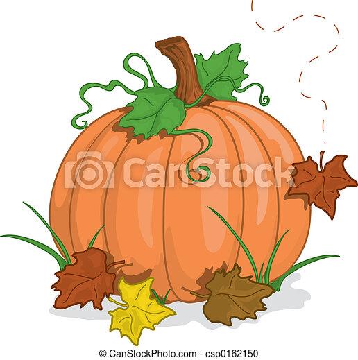 outono, abóbora - csp0162150
