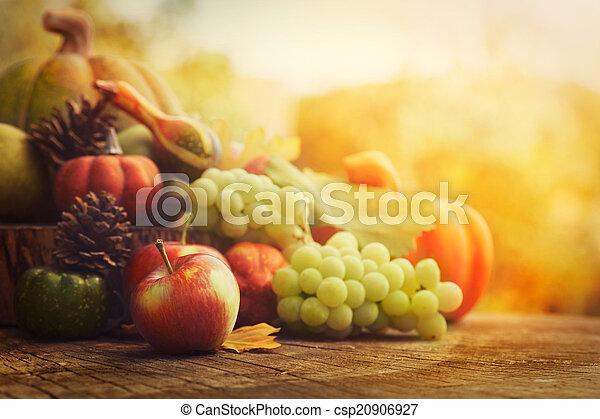 outono, fruta - csp20906927