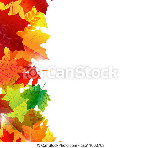 outono sai, borda - csp11063703