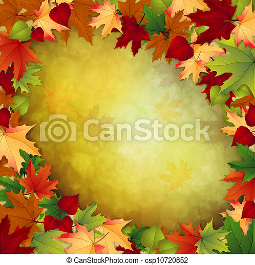 outono sai, fundo, maple - csp10720852
