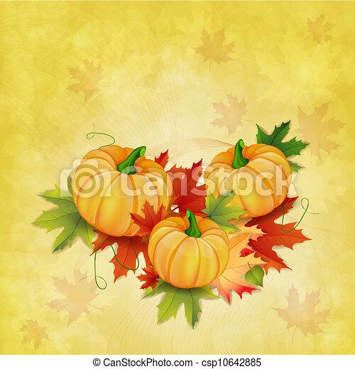 outono sai, fundo - csp10642885