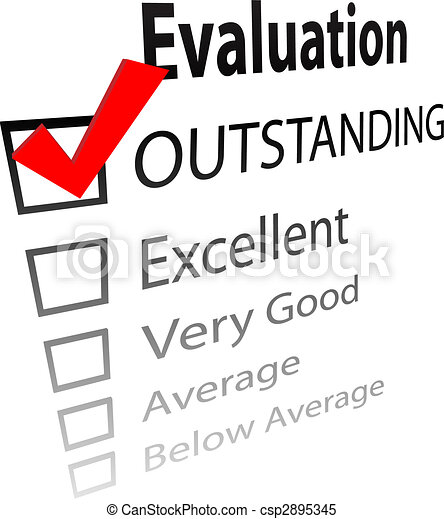 Outstanding job evalution check boxes - csp2895345