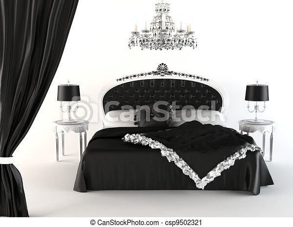 ouvert furniture moderne royal chandelier chambre coucher rideau ouvert moderne. Black Bedroom Furniture Sets. Home Design Ideas