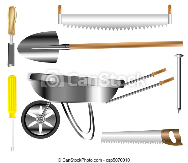 Ouvrier b timent outils emmagasiner construction for Outil de construction