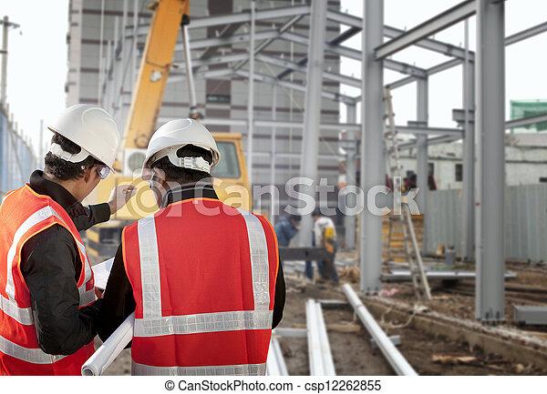 ouvrier construction - csp12262855
