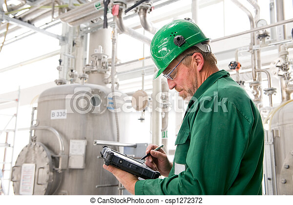 ouvrier industriel - csp1272372
