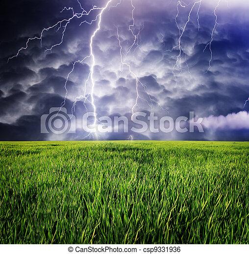 oväder - csp9331936