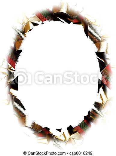 Oval Christmas - csp0016249