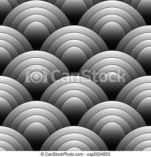 oval, padrão, seamles - csp5024853