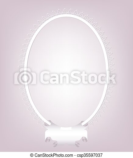 Oval, vendimia, marco, texto, espacio vectores - Buscar imágenes de ...