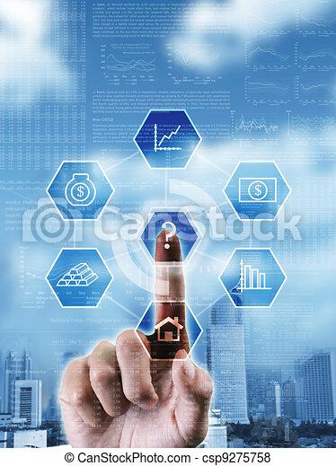 over, rechts, handel beslissing, beeld, keuze, kies, conceptueel, vervaardiging, investering - csp9275758