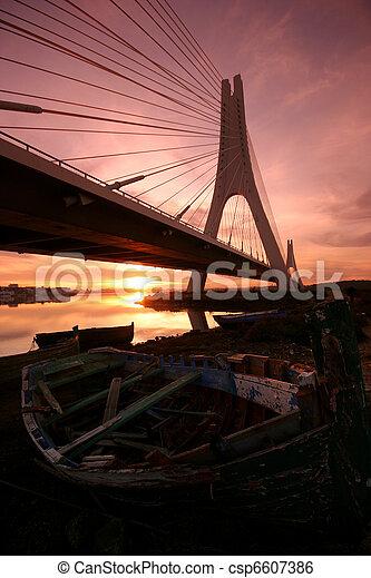 Over the bridge - csp6607386