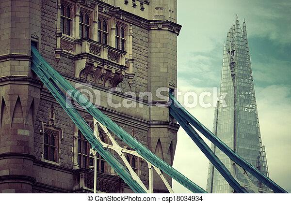 overbrug toren, londen - csp18034934