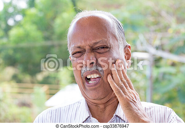 Ow tooth ache - csp33876947