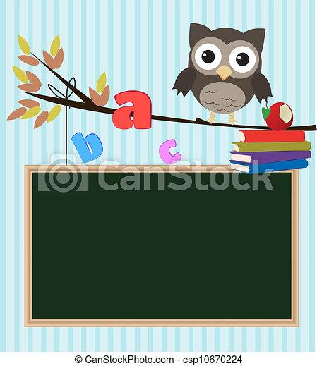 Owl Back To School