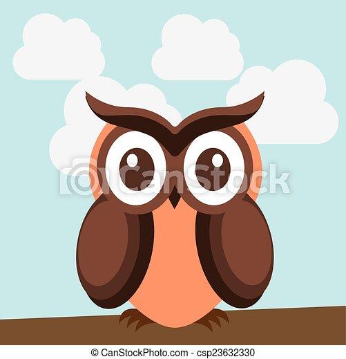 owl design - csp23632330