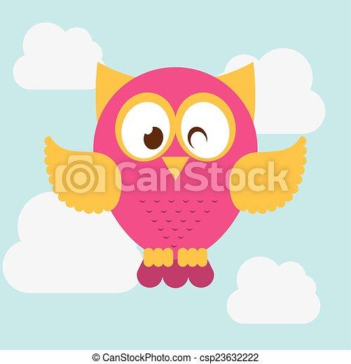 owl design - csp23632222
