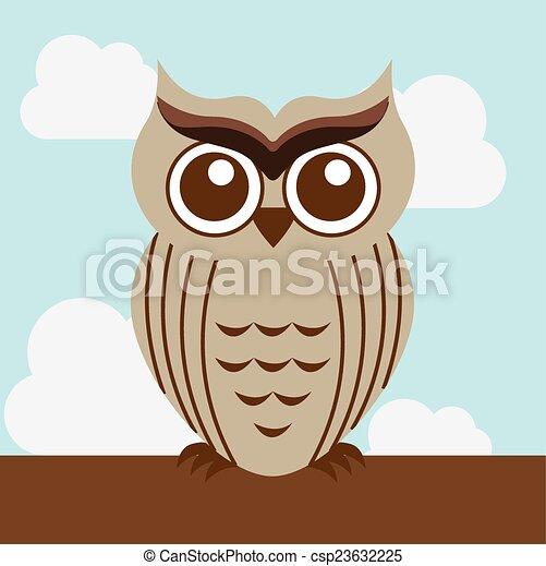 owl design - csp23632225