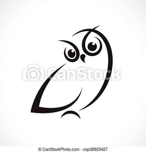 Owl Design Vector Of An Owl Design On A White Background