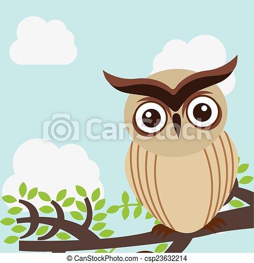 owl design - csp23632214