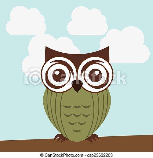owl design - csp23632203