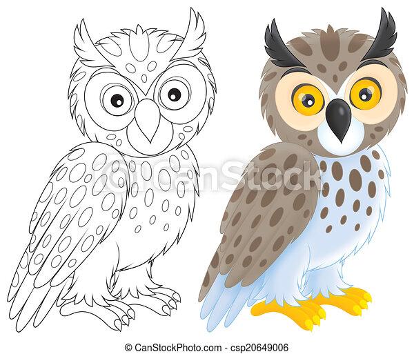 Owl - csp20649006