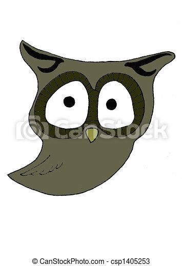 Owl - csp1405253
