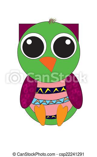 owl  - csp22241291