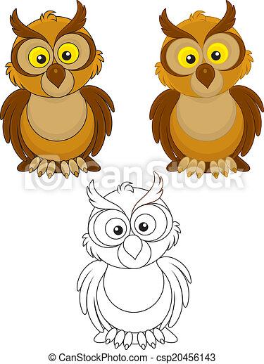 Owl - csp20456143