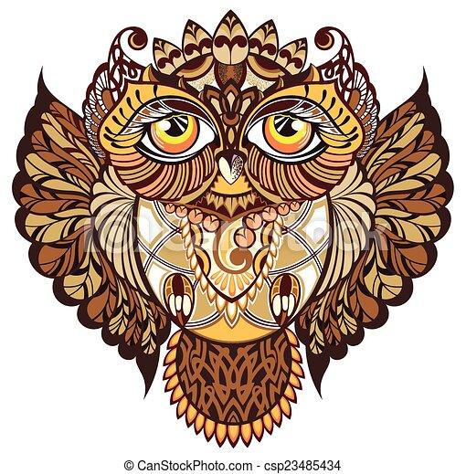 Owl - csp23485434