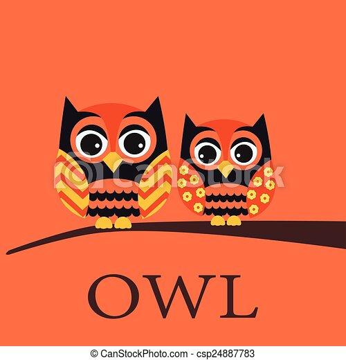 owl family - csp24887783