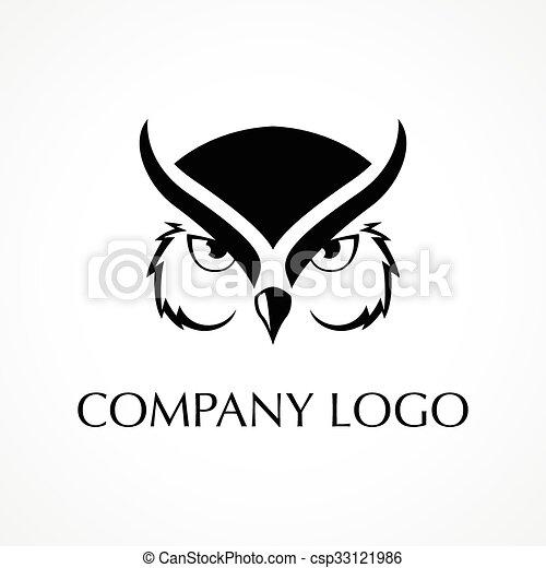 Owl Logo Symbol Of An Owl Smart Wisdom Wise Charisma Symbol