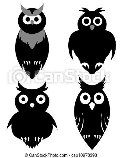 owl set - csp10978393