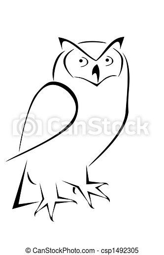 Owl - csp1492305