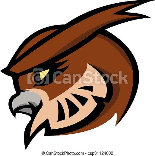 Owl symbol illustration design - csp31124002