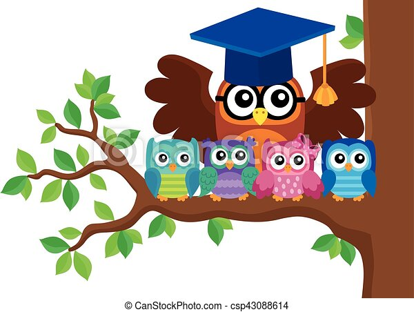 owl teacher and owlets theme teacher learning clip art teacher learning clip art