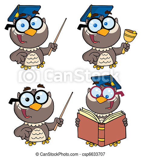 Owl Teacher - csp6633707