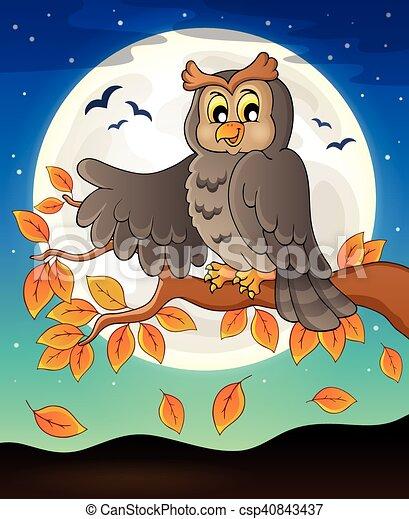 Owl topic image - csp40843437