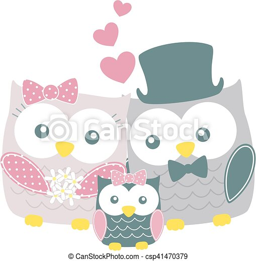 owls family - csp41470379