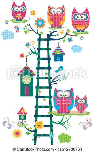 owl`s, træ - csp12700764