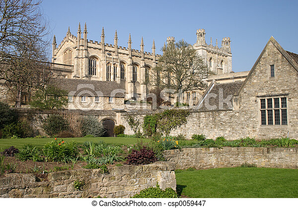 Oxford Cathedral - csp0059447