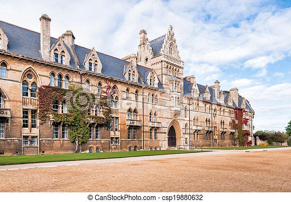 La universidad de Christ Church Oxford - csp19880632