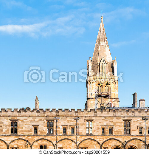 La universidad de Christ Church Oxford - csp20201559