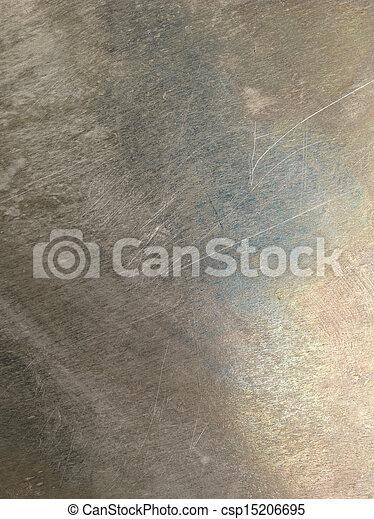 Textura oxidada de metal rayado - csp15206695