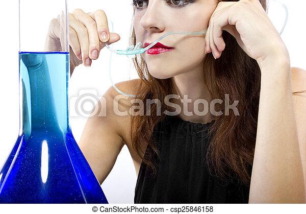 Oxygen Bar - csp25846158