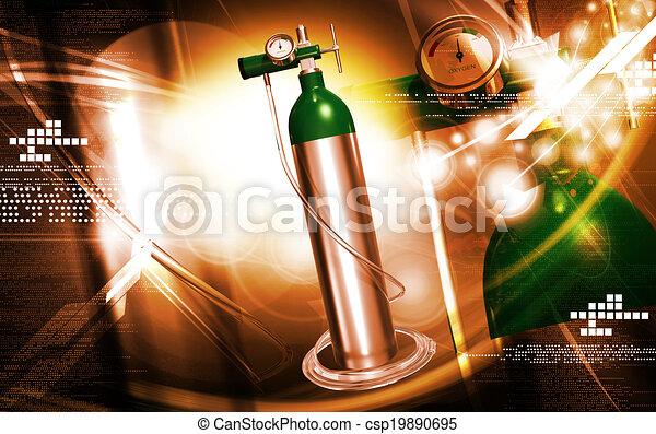 oxygen cylinder - csp19890695
