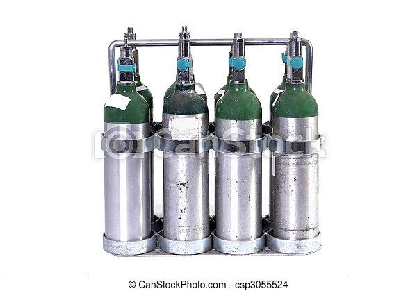Oxygen Tanks - csp3055524