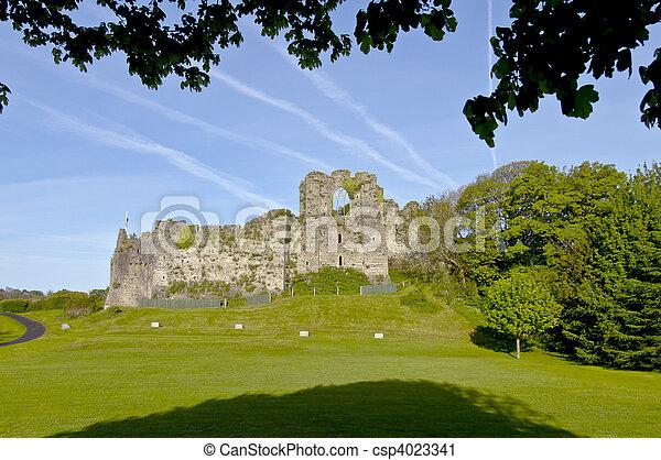 Oystermouth Castle - csp4023341